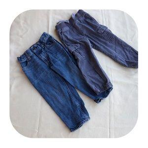 Other - 6/$15 2T Carter's pants & Oshkosh jeans
